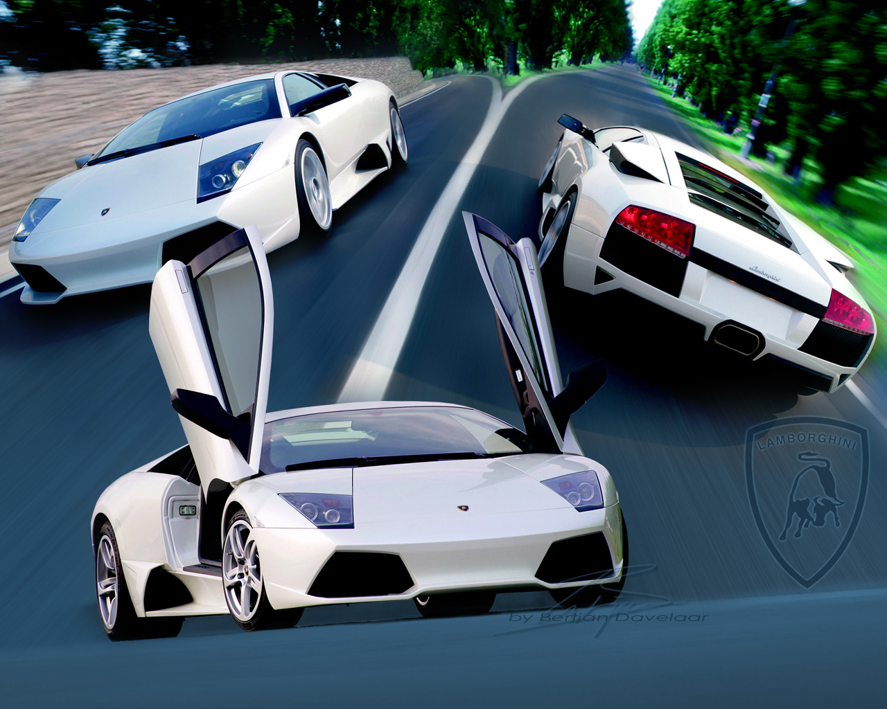lamborghini murcielago wallpaper sport cars - Lamborghini Gallardo Wallpaper Blue