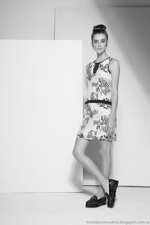 Carmela Achaval primavera verano 2014 vestidos de verano.