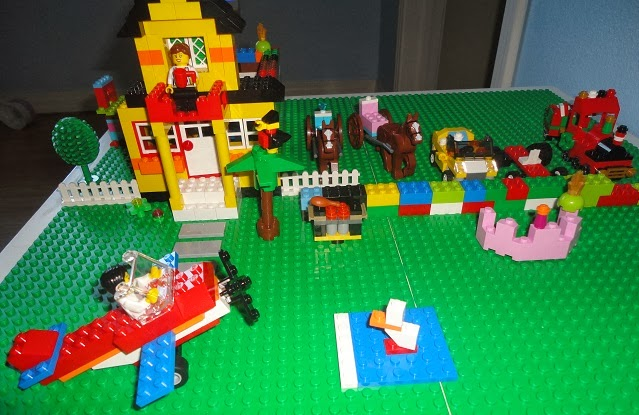 Learners in Bloom: DIY Lego Table for Under $30