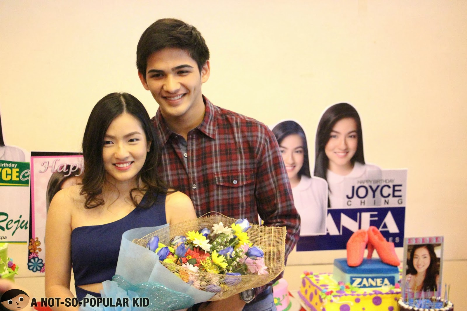 Joyce Ching and Phytos Ramirez posing together