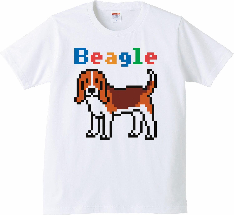 Pixel Party Boy「Beagle犬索」[Standard T-Shirt] 5.0oz | T-SHIRT COUNCIL