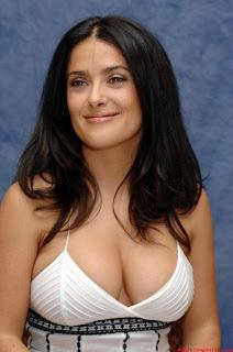 Salma Hayek hot boob