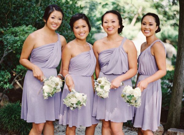 Casual Summer Purple Lavender Bridesmaid