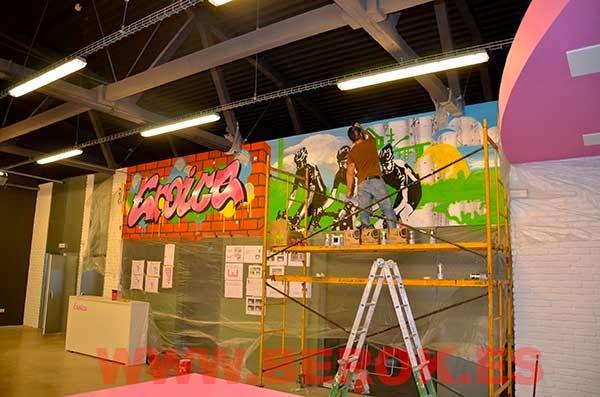 Decoración mural Eroica Sant Cugat