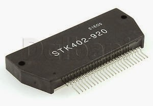 Hybrid-IC STK402-920 ; Power Audio Amp