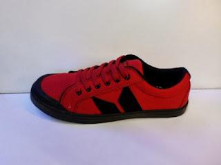 sepatu macbeth, macbeth vegan merah, sepatu macbeth warna merah