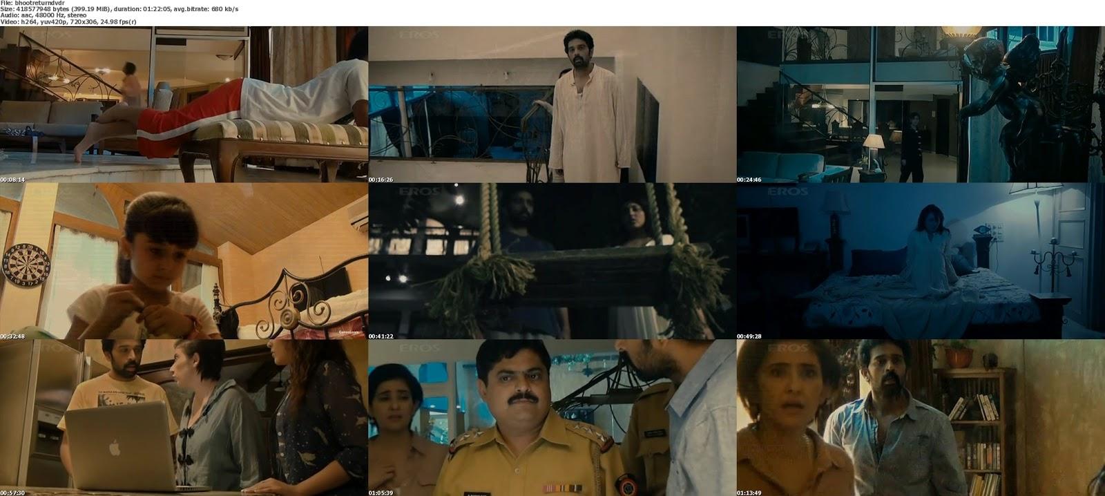 movie screenshot of Bhoot Returns fdmovie.com