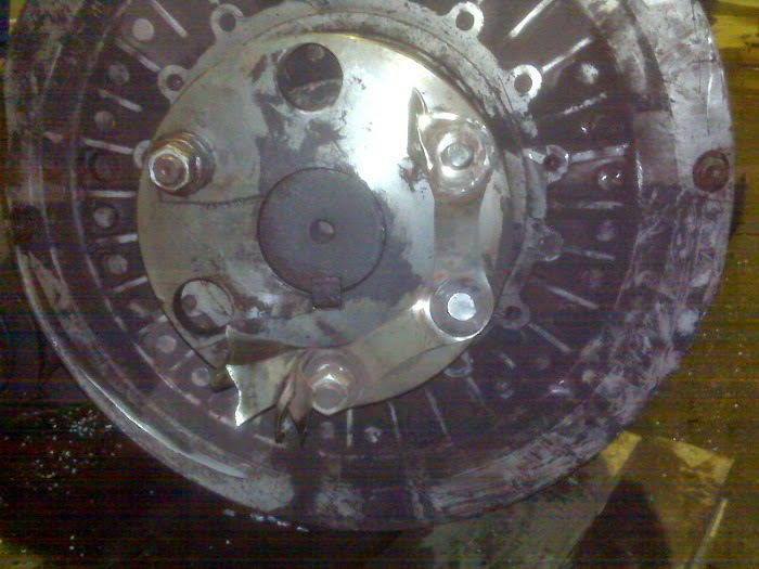 Disc Coupling Failure