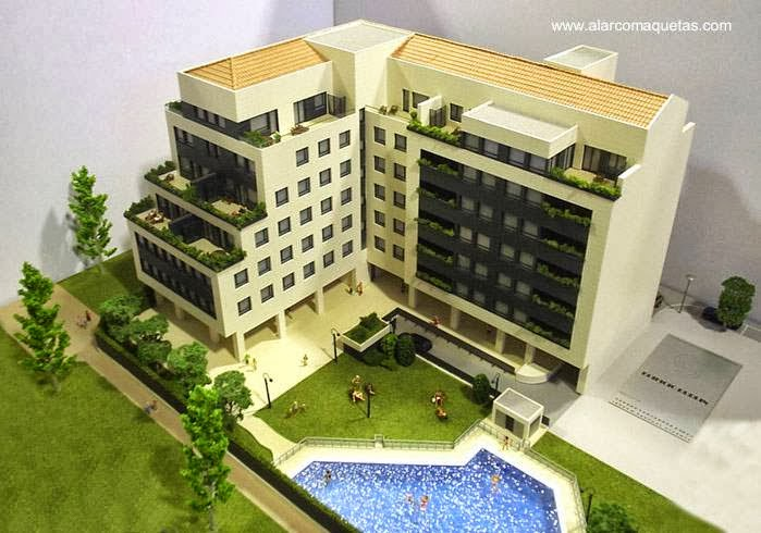 maqueta de un edificio residencial en logroño la maqueta técnica