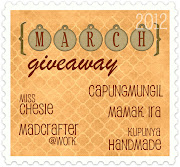 [MARCH Giveaway] Indonesian Crafter's admins unite