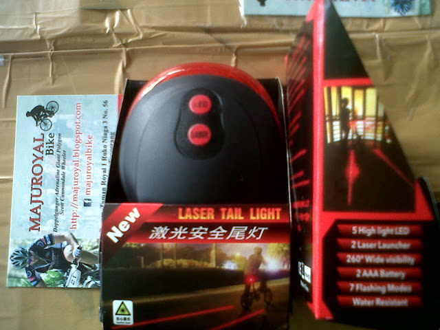 cateye laser tail light