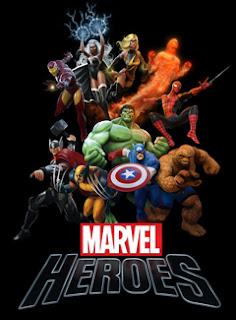marvel heroes artwork Marvel Heroes (Multi)   Steam Release Announced + DLC Details