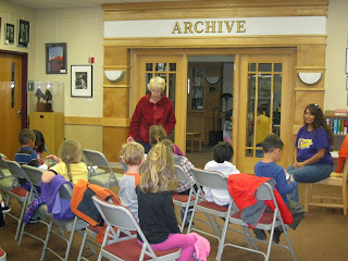Eileen at Ruidoso Public Library's Archive