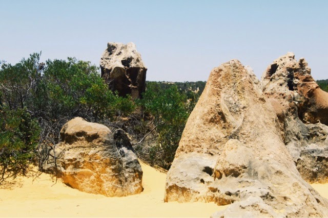 The Pinnacles (Nambung National Park) @ Cervantes, Perth, Western Australia 尖峰石陣 (南本國家公園) 澳洲澳大利亞西澳