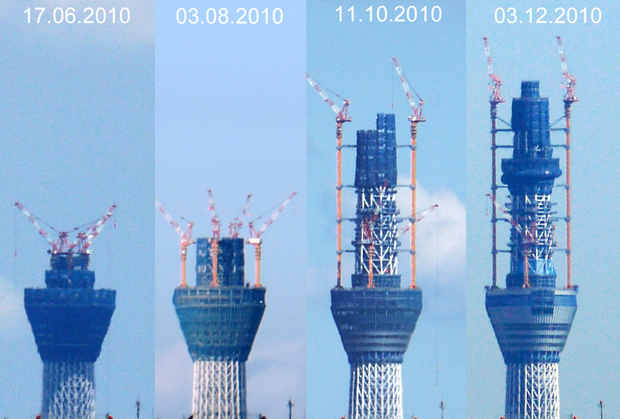 Tokyo Sky Tree-tower Worlds tallest free-standing-broadcast-structure
