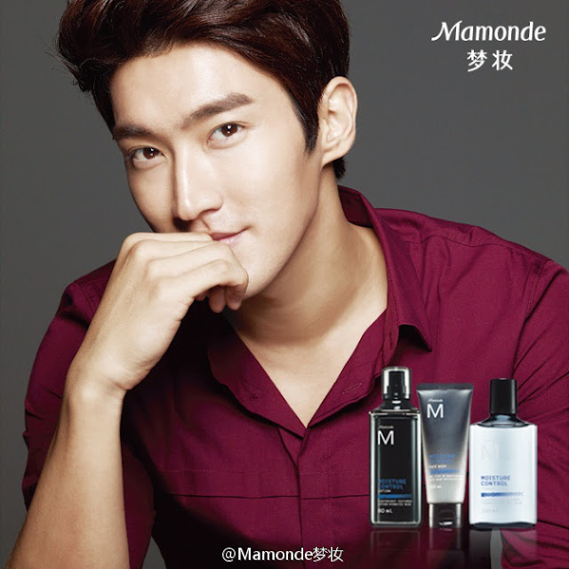 Image of Super Junior Choi Siwon for Mamonde - pinknomenal.blogspot.com