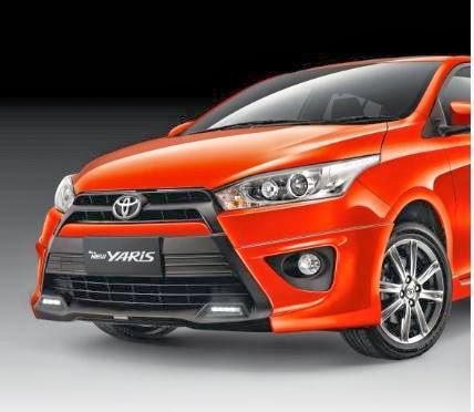 Gambar Mobil Toyota All New Yaris 2014
