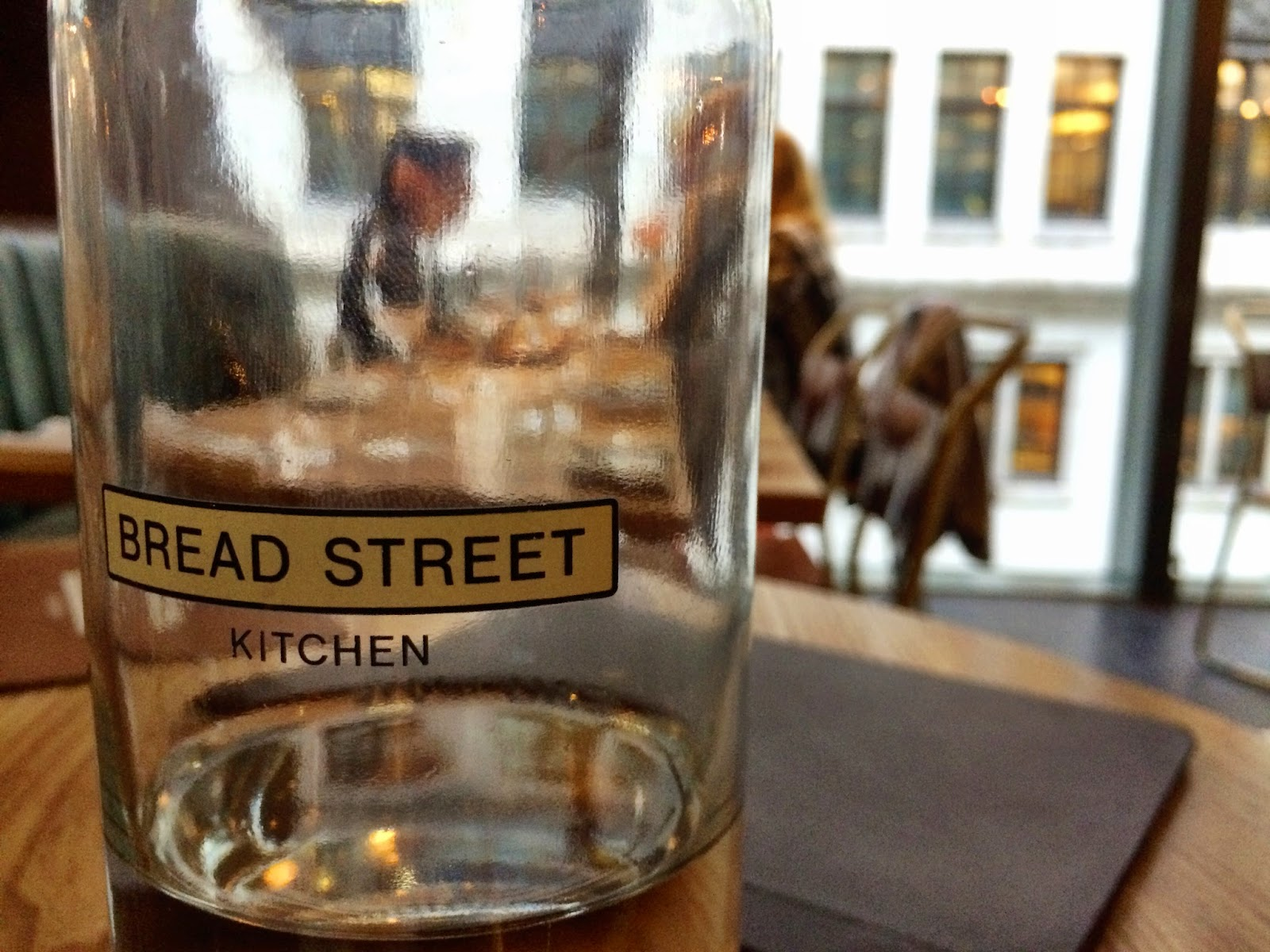 Bread Street Kitchen for National Burger Day 2014