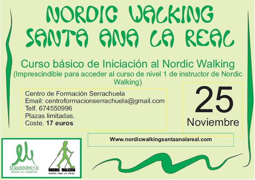 CURSO INICIACIÓN NORDIC WALKING 25 NOVIEMBRE