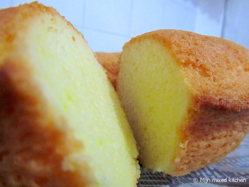 luchtige citroencake