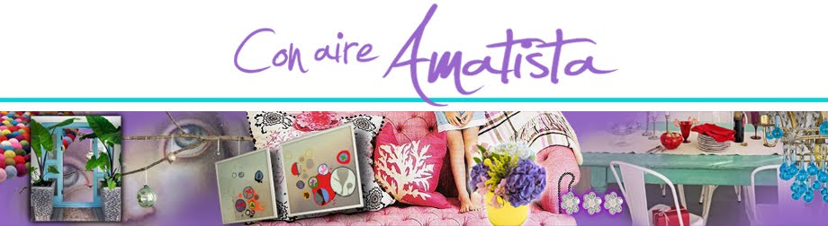 """con aire amatista """"decoración y diseño"""""""