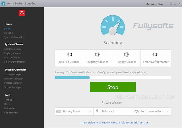 Download Avira System Speedup 1.6.11.1440 Full Crack
