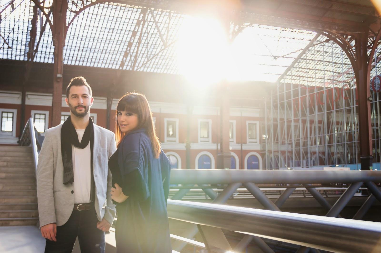Olga y Héctor promo disco 28