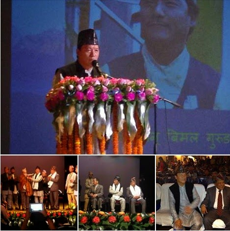 GTA chief Bimal Gurung wishes on 22nd Nepali Language Recognition day in India