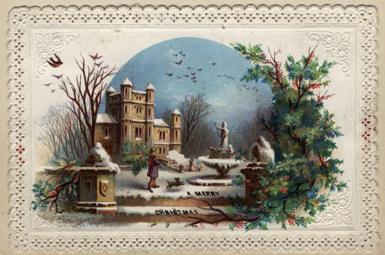 Nostalgia Antigos Cartes De Natal Salotto Di Teresa