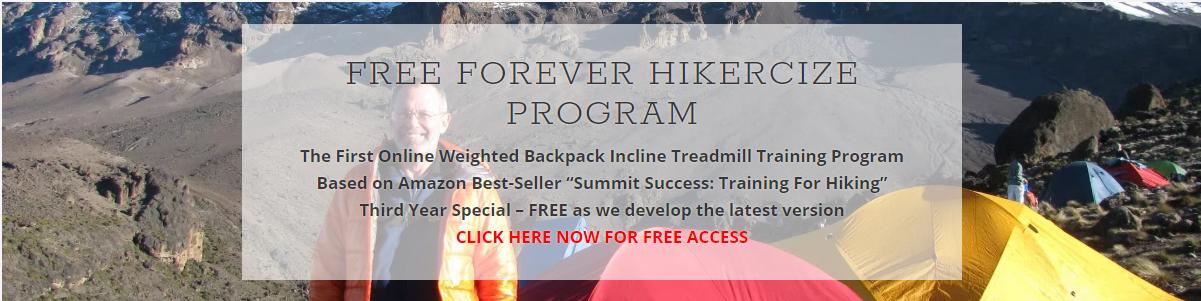 Free Forever Hikercize Bronze Program
