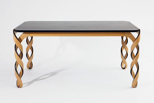 Contemporary furniture inspired by the past for Table th 100