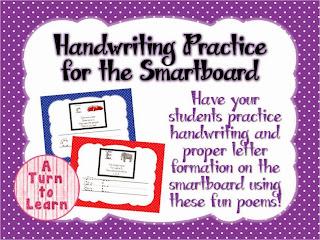 http://www.teacherspayteachers.com/Product/AlphabetHandwriting-Practice-for-the-Smartboard-1024640