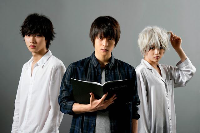 Aktorzy grający w dramie Death Note