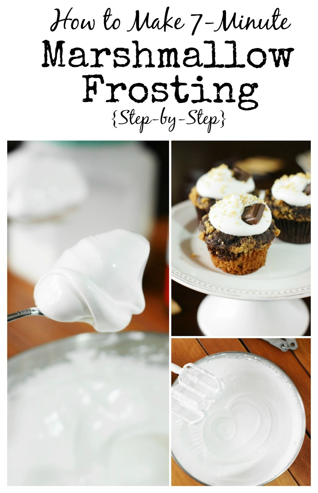 ... Playground: How to Make 7-Minute Marshmallow Frosting {Step-by-Step