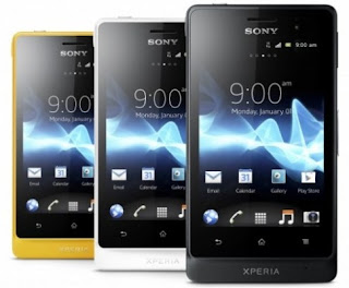Spesifikasi Sony Xperia go