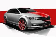 Skoda Rapid Sport Concept (2013 Rendering) Front Side