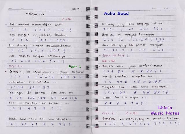 Chord Lagu Melepasmu | lirik chord lagu mix 1, lirik lagu ...
