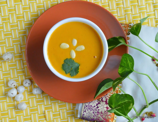 Pumpkin - Lotus Seed Soup