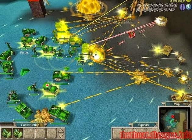 Download Game chiến thuật Army Men RTS nhẹ mà hay cho PC