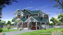 Sloped Roof Modern House Design