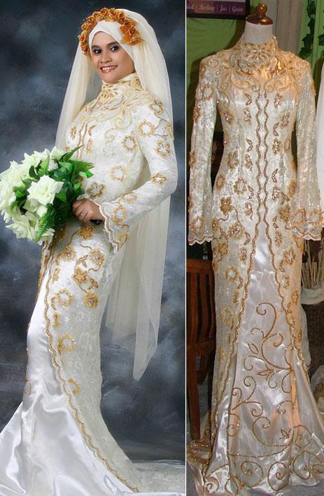 Bermacam fesyen terkini baju pengantin MuslimahTempahlah sekarang.