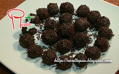 Palline di Cioccolato Brasiliane di Cotto e Mangiato