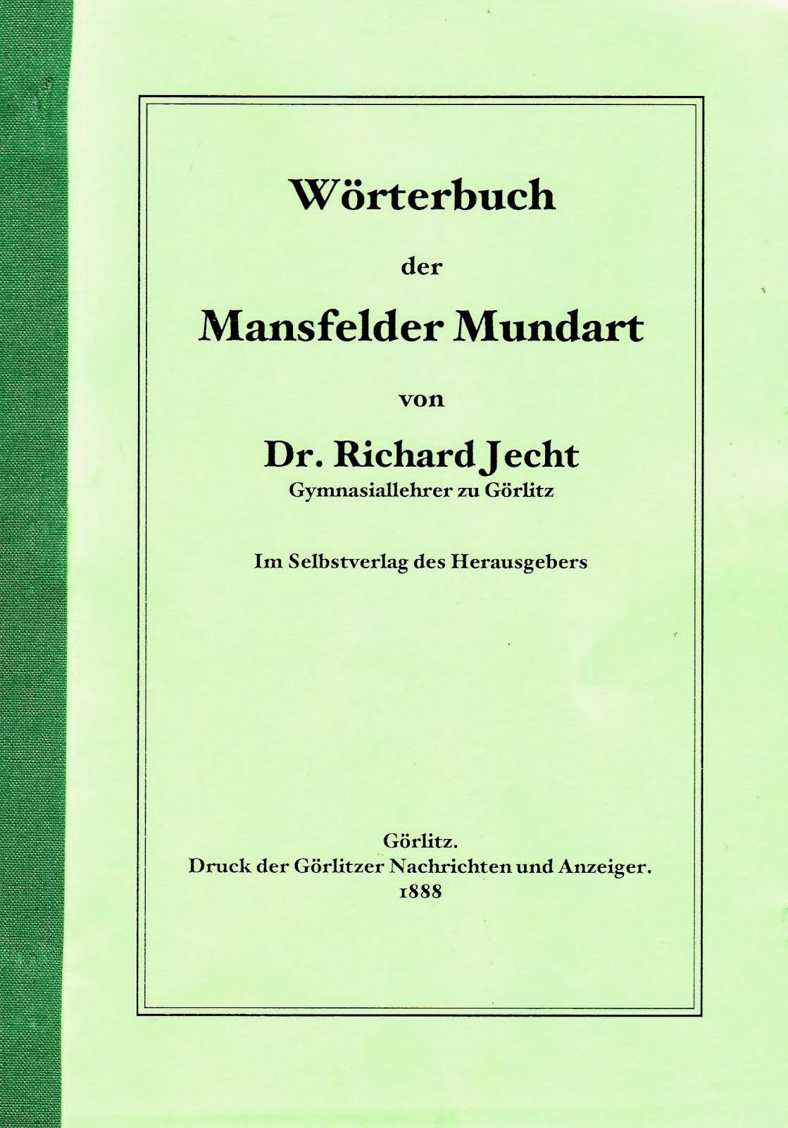 Wörterbuch der Mansfelder Mundart
