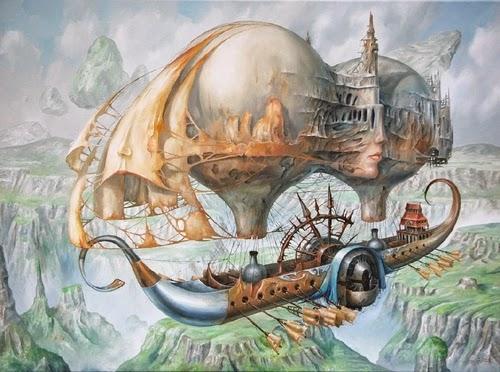 08-Jarosław-Jaśnikowski-Surreal-Paintings-of-Fantastic-Realism-www-designstack-co