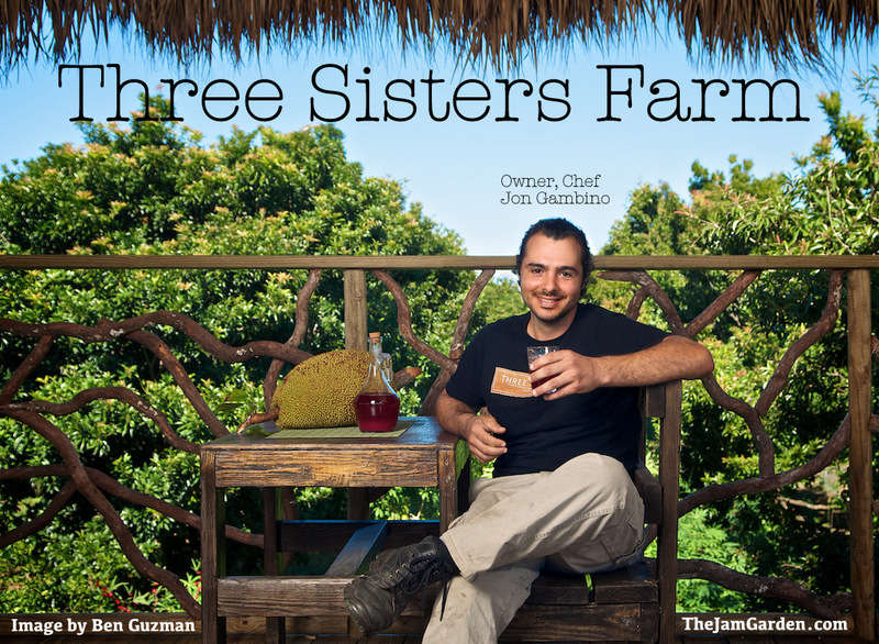 Three Sisters Farm owner and chef Jon Gambino photographed by Ben Guzman for The Jam Garden