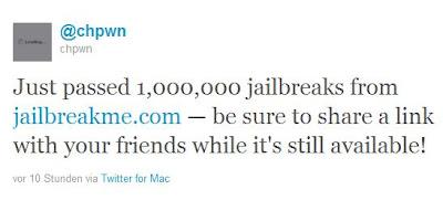 iPad 2-Jailbreak hat schon mehr als eine Million Nutzer