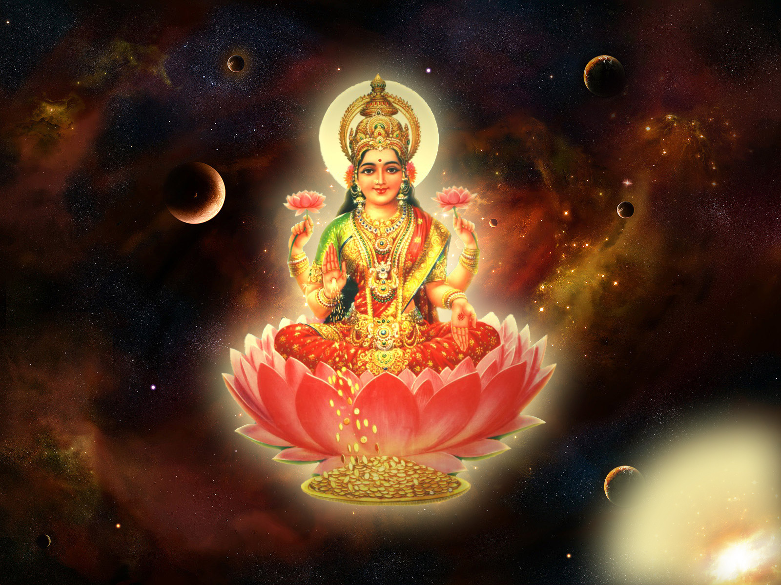 Laxmi God Wallpapers Wallpapers