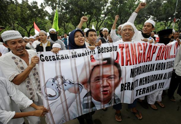 穆斯林統一運動︰拘捕阿學--放阿學走,等於放過侮辱《可蘭經》事件。