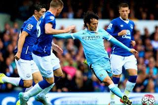 Everton vs Manchester City en Copa de la Liga Inglesa