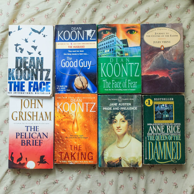 We love cheap books!   June book haul
